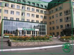 Главный корпус санатория Самоцвет